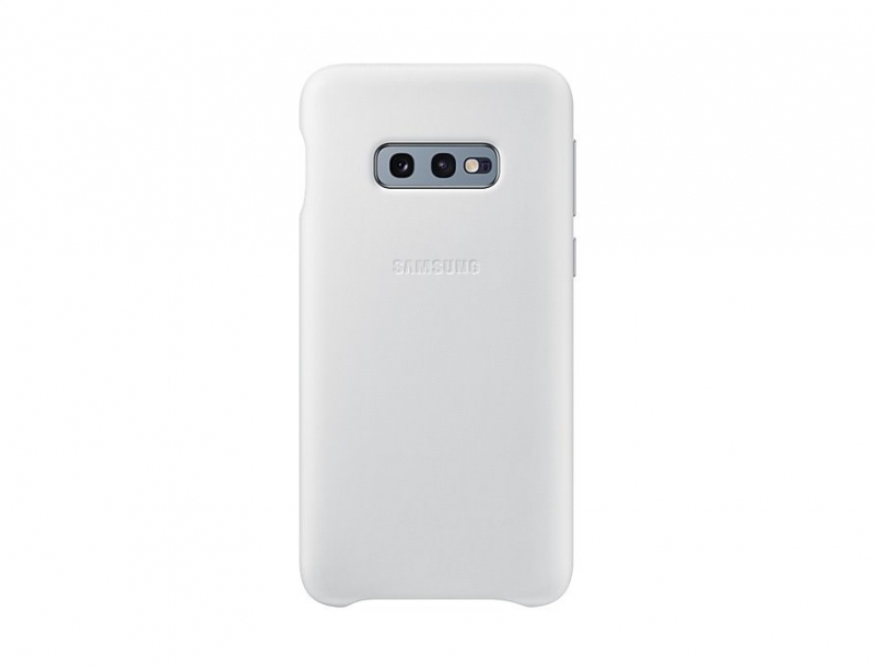 EF-VG970LWE Samsung Leather Cover White pro G970 Galaxy S10e