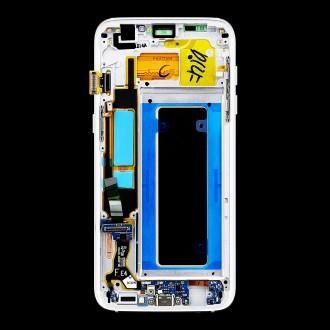 LCD display + Dotyk Samsung G935 Galaxy S7 Edge White (Service Pack)