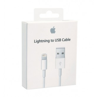 ME291ZM/A iPhone Lightning Datový Kabel 0, 5m White