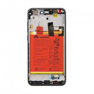 Huawei P9 Lite 2017 LCD Display + Dotyková Deska + Přední Kryt Black (Service Pack)