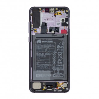 Huawei P20 Pro LCD Display + Dotyková Deska Twilight (Service Pack)