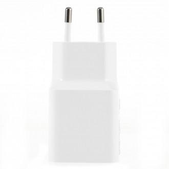 Xiaomi MDY-08-EO Cestovní nabíječka 2A + microUSB Datový Kabel White (Bulk)
