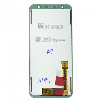 LCD display + Dotyk Samsung J415/J610 Galaxy J4+ /J6+ 2018 Black (Service Pack)