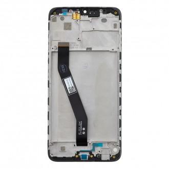 LCD Display + Dotyková Deska + Přední Kryt pro Xiaomi Redmi 8A Blue