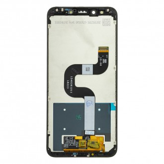 LCD Display + Dotyková Deska + Přední Kryt pro Xiaomi Mi A2 Black