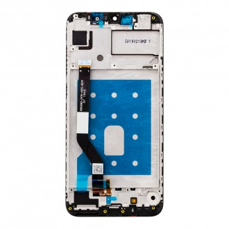 Huawei  Y7 2019 3+32GB LCD Display + Dotyková Deska + Přední Kryt Black