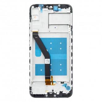Honor 8A LCD Display + Dotyková Deska + Přední Kryt Black