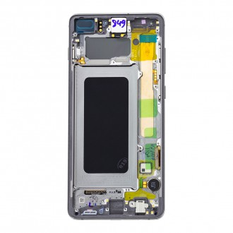LCD display + Dotyk Samsung G975 Galaxy S10+ Black (Service Pack)