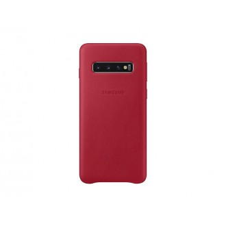 EF-VG973LRE Samsung Leather Cover Red pro G973 Galaxy S10