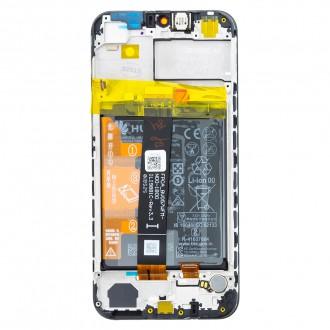 Huawei Y5 2019 LCD Display + Dotyková Deska + Přední Kryt Black (Service Pack)