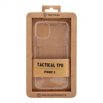 Tactical TPU Kryt Transparent pro iPhone 11