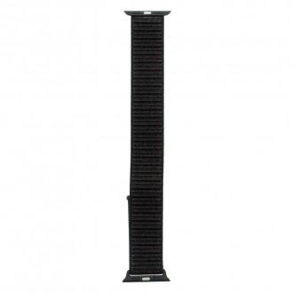 Tactical 527 Látkový Řemínek pro iWatch 1, 2, 3, 4, 5 38-40mm Black