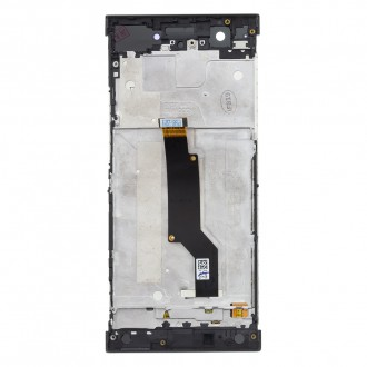 LCD Display + Dotyková Deska + Přední Kryt Black Sony G3121 Xperia XA1