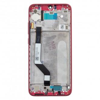 LCD Display + Dotyková Deska + Přední Kryt pro Xiaomi Redmi Note 7 Red (Service Pack)