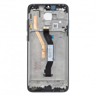 LCD Display + Dotyková Deska + Přední Kryt pro Xiaomi Redmi Note 8 Pro Black (Service Pack)