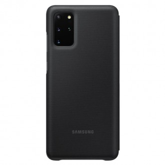 Samsung LED S-View Pouzdro pro Galaxy S20+ Black (EF-NG985PBE)
