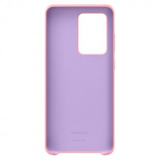 Samsung Silikonový Kryt pro Galaxy S20 Ultra Pink (EF-PG988TPE)