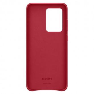 Samsung Kožený Kryt pro Galaxy S20 Ultra Red (EF-VG988LRE)