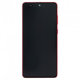 LCD display + Dotyk Samsung N770 Galaxy Note 10 Lite Red (Service Pack)