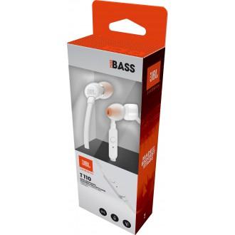JBL T110 In-Ear Headset 3, 5mm White