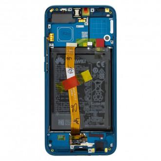 Honor 10 LCD Display + Dotyková Deska + Přední Kryt Green (Service Pack)