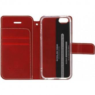Molan Cano Issue Book Pouzdro pro Xiaomi Redmi Note 9 Pro/9S/9 Pro Max Red
