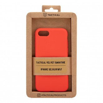 Tactical Velvet Smoothie Kryt pro Apple iPhone SE2020/8/7 Chilli