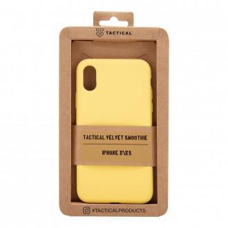 Tactical Velvet Smoothie Kryt pro Apple iPhone X/XS Banana