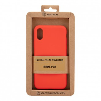 Tactical Velvet Smoothie Kryt pro Apple iPhone X/XS Chilli