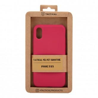 Tactical Velvet Smoothie Kryt pro Apple iPhone X/XS Sangria
