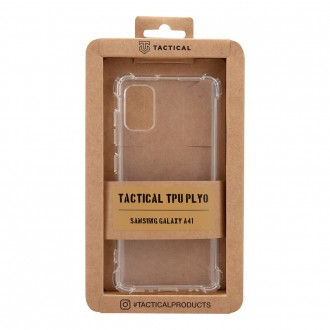 Tactical TPU Plyo Kryt pro Samsung Galaxy A41 Transparent