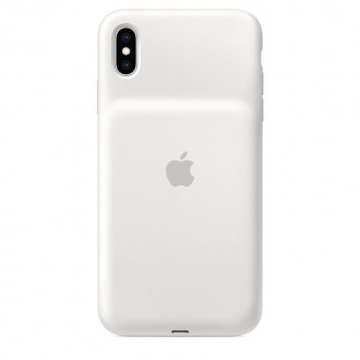 MRXR2ZM/A Apple Smart Battery Kryt pro iPhone XS Max White
