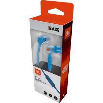 JBL T110 In-Ear Headset 3, 5mm Blue