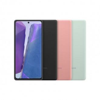 Samsung Silikonový Kryt pro N980 Galaxy Note 20 Black (EF-PN980TBE)