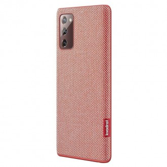 Samsung Kvadrat Cover pro N980 Galaxy Note 20 Red (EF-XN980FRE)