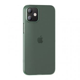 USAMS US-BH609 Soft PP Kryt pro iPhone 12/12 Pro Transparent Green