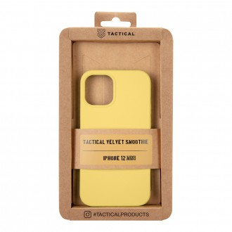 Tactical Velvet Smoothie Kryt pro Apple iPhone 12 Mini Banana