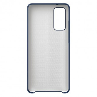 Samsung Silikonový Kryt pro Galaxy S20 FE Navy (EF-PG780TNE)