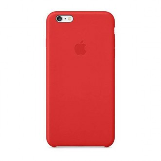 Apple Leather Cover Red pro iPhone 6/6S Plus (MGQY2ZM/A)