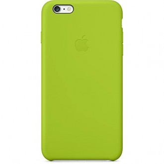 Apple Leather Cover Green pro iPhone 6/6S Plus (MGXX2ZM/A)