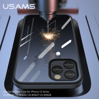 USAMS US-BH627 PC+TPU Kryt pro iPhone 12/12 Pro Dark Green