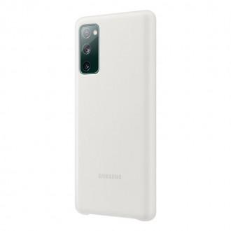 EF-PG780TWE Samsung Silikonový Kryt pro Galaxy S20 FE White