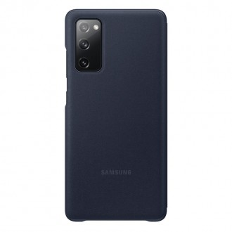 EF-ZG780CNE Samsung Clear View Cover pro Galaxy S20 FE Navy