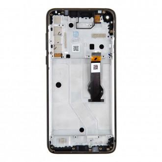 Motorola G8 Power LCD Display + Dotyková Deska Black (Service Pack)