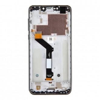 Motorola One LCD Display + Dotyková Deska Black (Service Pack)
