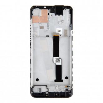 Motorola One Fusion Plus + LCD Display + Dotyková Deska Black (Service Pack)