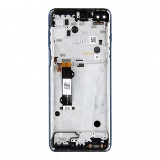 Motorola G 5G LCD Display + Dotyková Deska Blue (Service Pack)