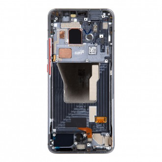 LCD Display + Dotyková Deska + Přední Kryt pro Xiaomi Poco F2 Pro Black (Service Pack)