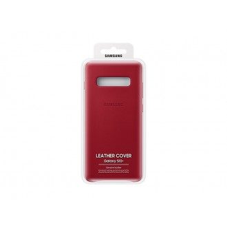 EF-VG975LRE Samsung Leather Cover Red pro G975 Galaxy S10 Plus