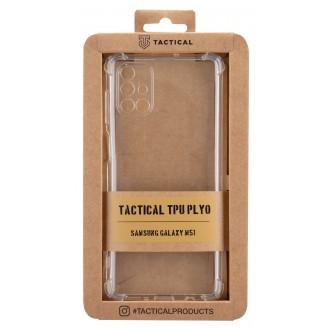 Tactical TPU Plyo Kryt pro Samsung Galaxy M51 Transparent